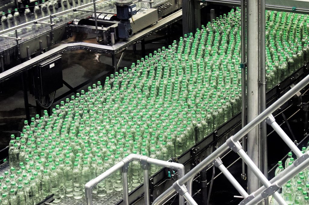 business coaching in bottling plant